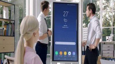 Samsung Flip- Bảng kỹ thuật số tương tác cho không gian làm việc hiện đại