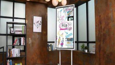 Công ty CMS phân phối độc quyền bảng tương tác Samsung Flip tại Việt Nam