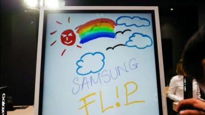 Bảng tương tác Samsung Flip 2: Thiết kế tối giản cho bạn trả nghiệm học tập tuyệt vời nhất